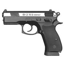 ActionSportGames Vzduchová pistole CZ-75 D Compact bicolor + zdarma vzduchovkové terče bal. 100ks