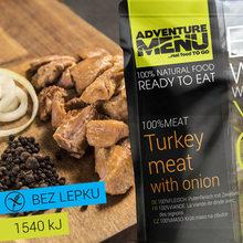 Adventure Menu 100% Krůtí maso na cibulce - bez lepku