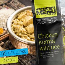 Adventure Menu Kuře Korma s rýží - bez lepku