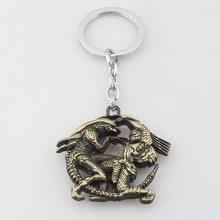 Alien vs Predator Přívěsek na klíče Alien vs. Predator bronz