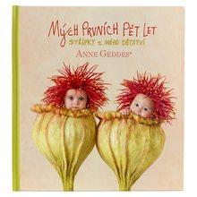 Anne Geddes Kniha Mých Prvních Pět Let Vlčí máky