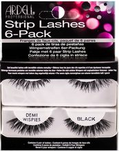 Ardell Ardell Strip Lashes nalepovací řasy multipack Demi Wispies Black