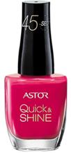 Astor Astor Quick & Shine 8ml - 203 Into The Sunset