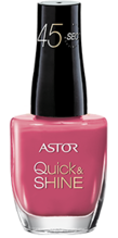 Astor Astor Quick & Shine 8ml - 204 Life In Pink