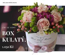 Box and Roses Box Velký