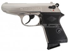 Bruni Plynová pistole Bruni New Police chrom cal.9mm