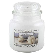 Carolina Candles Svíčka skleněná dóza Carolina Candles Měkká bavlna, 425 g