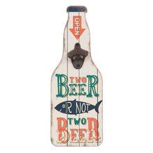 Clayre & Eef Nástěnný otvírák lahví BEER