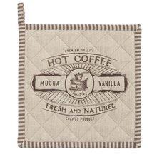 Clayre & Eef Podložka pod hrnec nebo chňapka BUT FIRST COFFEE