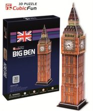 Cubic Fun 3D puzzle Big Ben (malý) 30 dílků