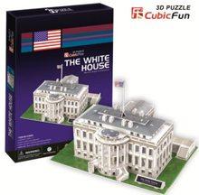 Cubic Fun 3D puzzle Bílý dům 65 dílků