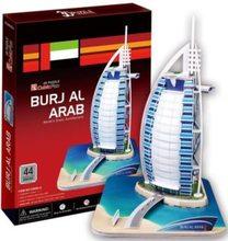 Cubic Fun 3D puzzle Burj Al Arab 44 dílků