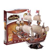 Cubic Fun 3D puzzle Mayflower 111 dílků