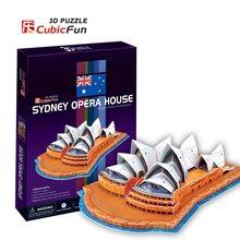 Cubic Fun 3D puzzle Opera v Sydney 58 dílků