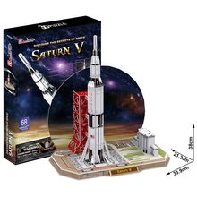 Cubic Fun 3D Puzzle Saturn V Raketa 68 dílků