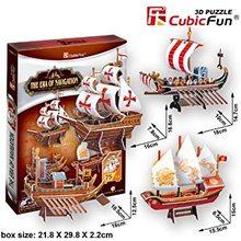Cubic Fun 3D Puzzle The Era of Navigation 75 dílků
