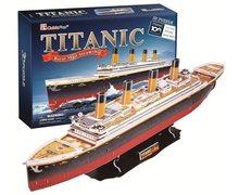 Cubic Fun 3D Puzzle Titanic 35 dílků