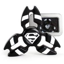DC Heroes Kovový Fidget Spinner Shuriken Superman