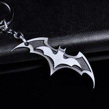 DC Heroes Přívěsek na klíče Batman Silver Mat
