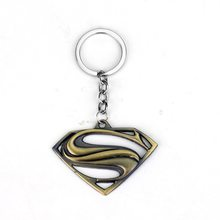 DC Heroes Přívěsek na klíče Batman & Superman Bronz