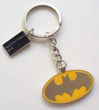 DC Heroes Přívěsek na klíče Batman žlutý silver