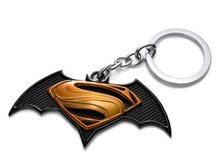 DC Heroes Přívěsek na klíče Superman & Batman Black/Gold