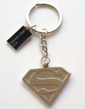 DC Heroes Přívěsek na klíče Superman Silver