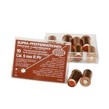 Diefke Wadie Munition Plynové náboje PV-S 9mm revolver 10ks Supra Pepper