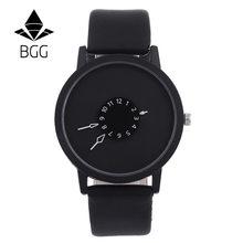 Duoya Designové hodinky BGG Black/Black