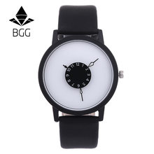 Duoya Designové hodinky BGG Black/White