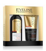 EVELINE Eveline Argan + Keratin dárková sada (šampon 150ml + kondicionér 200ml)