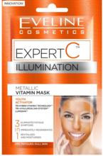 EVELINE Eveline Expert C Illumination Metallic Vitamin Mask 2x5ml