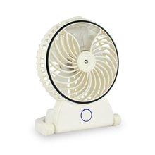 Fan Zvlhčující chladicí ventilátor - dobíjecí USB stolní bílý