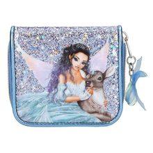Fantasy Model Peněženka Fantasy Model Víla se srnečkou, světle modrá s flitry
