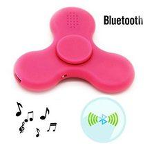 Fidget Spinner Fidget spinner s LED + Bluetooth Music růžový