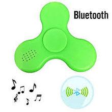 Fidget Spinner Fidget spinner s LED + Bluetooth Music zelený