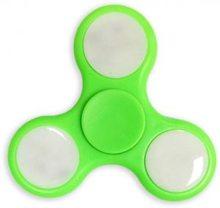 Fidget Spinner Fidget spinner s LED osvětlením zelený
