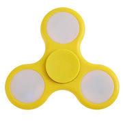 Fidget Spinner Fidget spinner s LED osvětlením žlutý