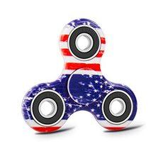 Fidget Spinner  Klasický Fidget Spinner s potiskem USA s černým