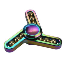 Fidget Spinner Kovový Fidget Spinner Ballmaster Rainbow