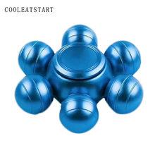 Fidget Spinner Kovový Fidget Spinner BB-8 modrý 6