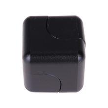 Fidget Spinner Kovový Fidget Spinner Cube černá