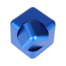Fidget Spinner Kovový Fidget Spinner Cube modrá