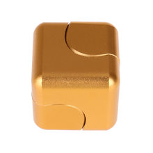 Fidget Spinner Kovový Fidget Spinner Cube zlatá