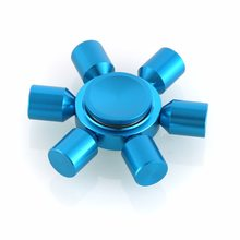 Fidget Spinner Kovový Fidget Spinner FQ777 modrý