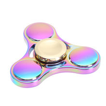 Fidget Spinner Kovový Fidget Spinner Magický Rainbow