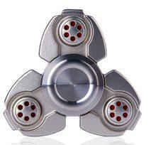 Fidget Spinner Kovový Fidget Spinner Matrix stříbrný