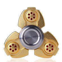 Fidget Spinner Kovový Fidget Spinner Matrix zlatý