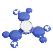 Fidget Spinner Kovový Fidget Spinner Mickey Mouse modrý