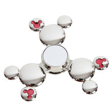 Fidget Spinner Kovový Fidget Spinner Mickey Mouse štříbrný